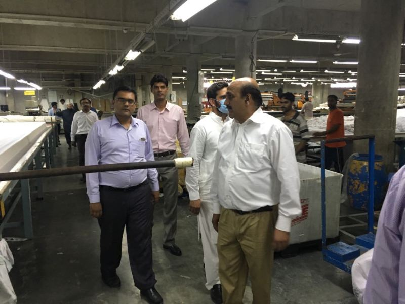 Knitting Units In Lahore : Industrial tour arranged by department of management